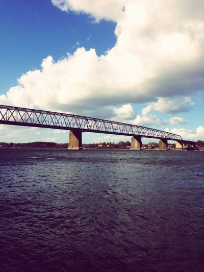 Beautyfull bridge Bridge - Man Made Structure Architecture Cloud - Sky Water