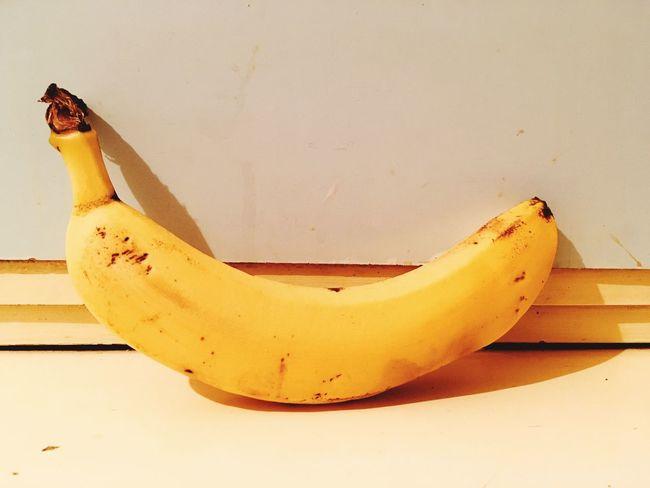Fresh banana Banana Fruit Food And Drink No People Food Healthy Eating Banana Peel Day Close-up Outdoors Freshness