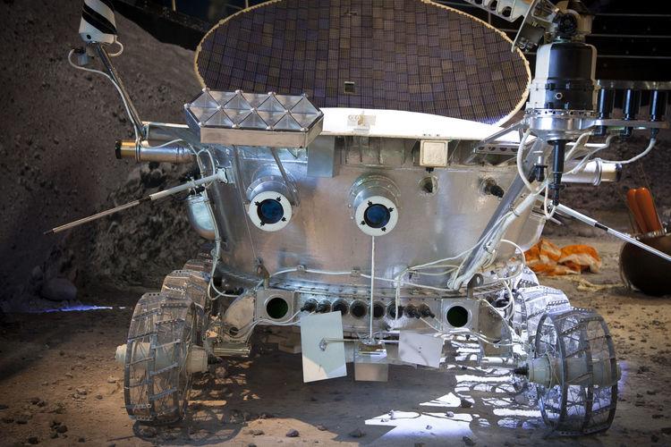 Луноход луна исследователь Первый робот механика технологии космос