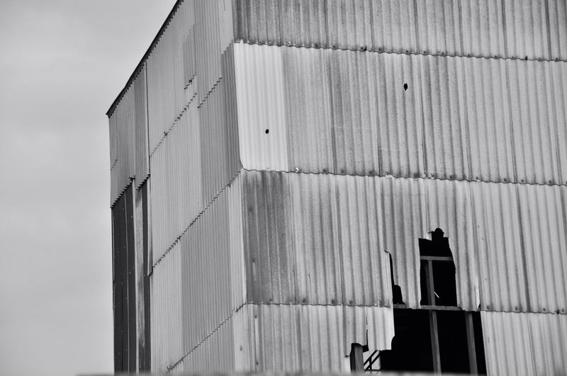 abandoned factory Built Structure Architecture Day Outdoors Sky Close-up Detail Abandoned Blackandwhite Photography Black And White Purist No Edit No Filter Industry Building Exterior Pattern Decay No People Structure Urbanphotography Urban Exploration Fresh On Eyeem