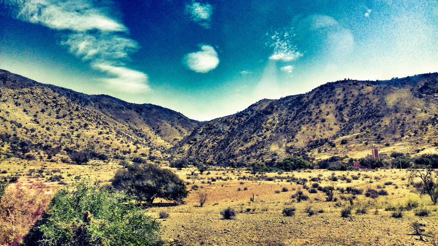 Mountain Nature Landscape Sky No People Beauty In Nature Morocco MoroccoTrip South Morocco