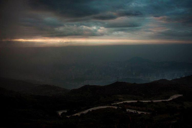 Mountain Scenics Dusk Storm Cloud Nature Beauty In Nature HongKong Landscape