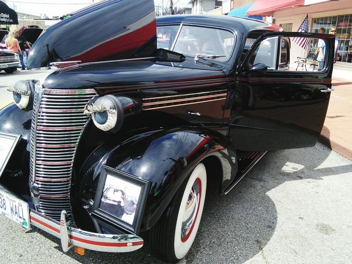 MeinAutomoment Classic Car Show Classic Car Vintage Cars Block Party Neighborhood Memories  1938 Chevrolet Coupe, last year's winner.