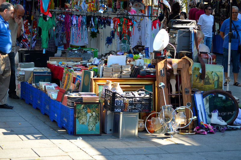 Rastrillo Rastro Abandoned Abundance Choice Day Large Group Of Objects Market Multi Colored No People Outdoors Retail  Variation