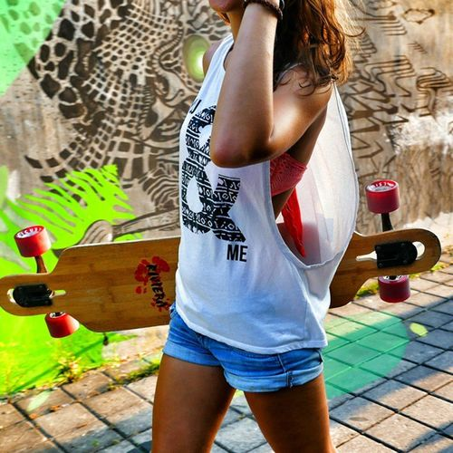 Shooting for @rivierahouse in Bali, Canggu. Thanx to my friends @bartretera and @wmacwright for support! ☺☝🏄💓🌊😍👉🌞✌🌞 Bali Balibabes Fashion Canggu riviera teamriviera longboards wheels girls boys gh4 shooting instagood instalike danielnekvasil wall graffity jeans travelingtheworld