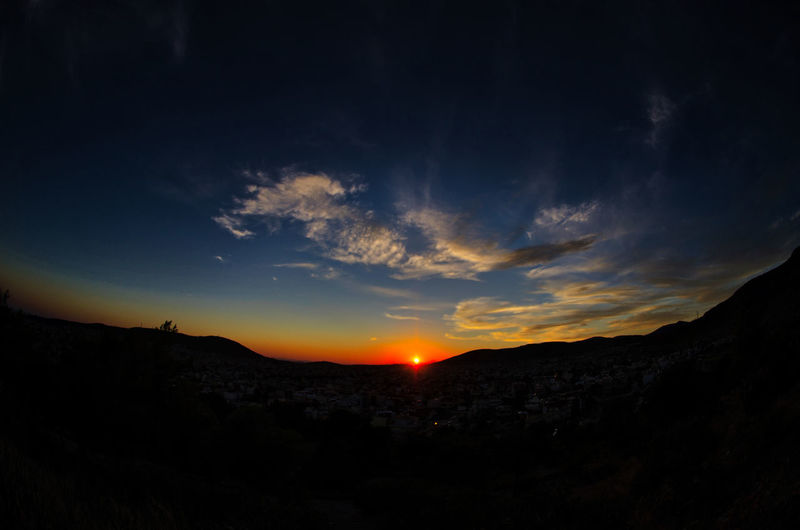 Sunset greece Beauty In Nature Landscape Mountain Nature Night No People Outdoors Scenics Sky Sunset