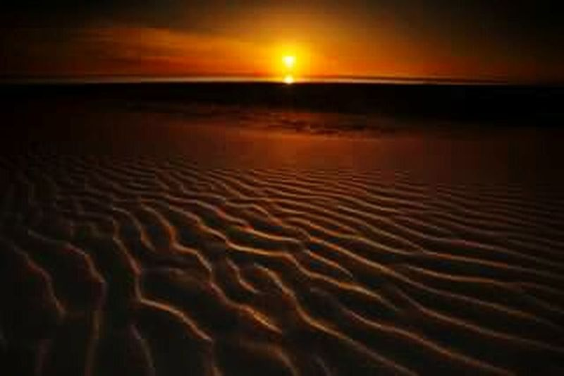 Burning Sand