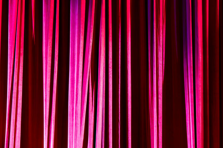 Full frame shot of multi colored curtain