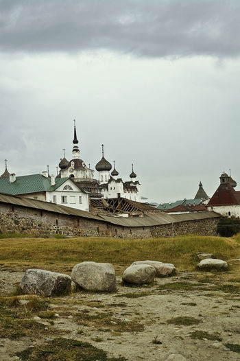 Architecture Chapel Church Dome History Outdoors Religion Russia Solovki Spirituality Summer Tourism Travel Destinations