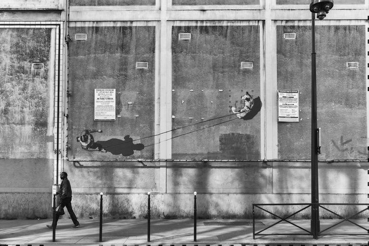 Architecture Paris, France  Shadows & Lights Shadows On The Wall Street Photography Streetphotography Trompe-l'œil The Street Photographer - 2017 EyeEm Awards