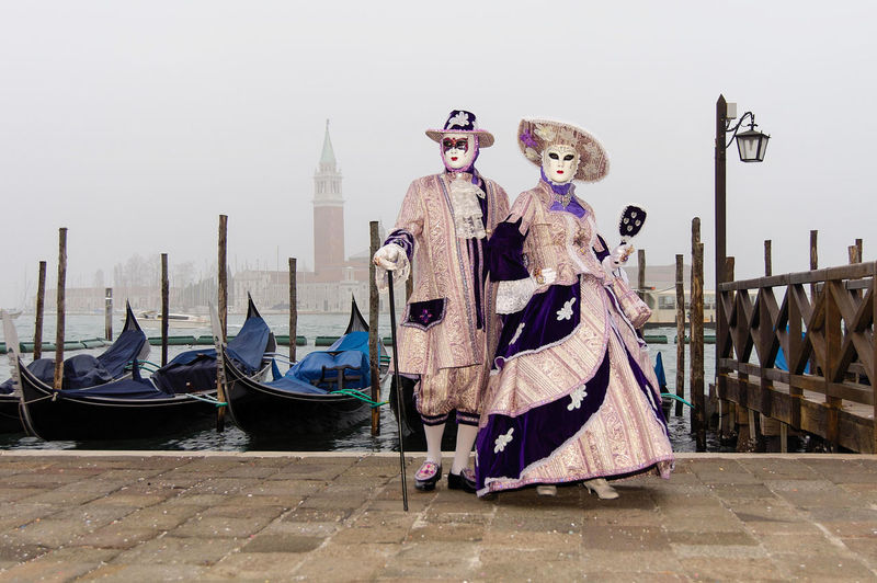 Carnival in Venice Carnival In Venice Venice, Italy Adult Day Down Fog Foggy Day Full Length Gondola - Traditional Boat Masquerade One Person Outdoors People Period Costume Venetian Mask The Portraitist - 2018 EyeEm Awards