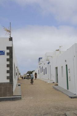 Outdoors Day Architecture Arena Lanzarote Canarias La Graciosa Building Exterior People