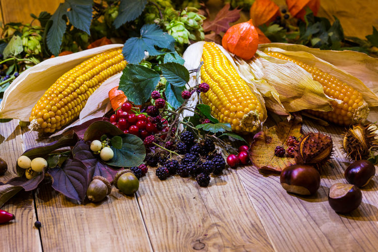 Thanksgiving! Autumn Colors Leafs Macro Photography Studio Thanksgiving Close-up Color Colorful Corn Corn On The Cob Food Food And Drink Freshness Fruits Harvest Harvest Time Harvesting Healthy Eating Leaf Macro Outdoors Studio Shot Vegetable