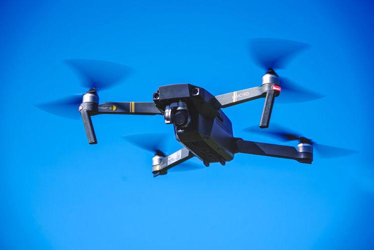 My MavicPro - shot with Sony Alpha 7R3 Flying Blue Air Vehicle Motion Sky No People Technology Drone  Aerospace Industry Mavic Pro DJI Mavic Pro Dji