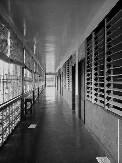 📷 Blackandwhite Photography Blackandwhite Photography Photo Highschool Corridor Taking Photos Oroquieta City