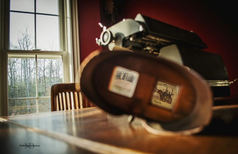 The Secret Spaces Oldkentuckyhome Antique Typewriter Old Home Sky Vintage Technology Kentucky  Home Interior Window Eye4photography  Old-fashioned Home Is Where The Art Is Antiques Kentucky  Indoors  Day Morning Morning Light