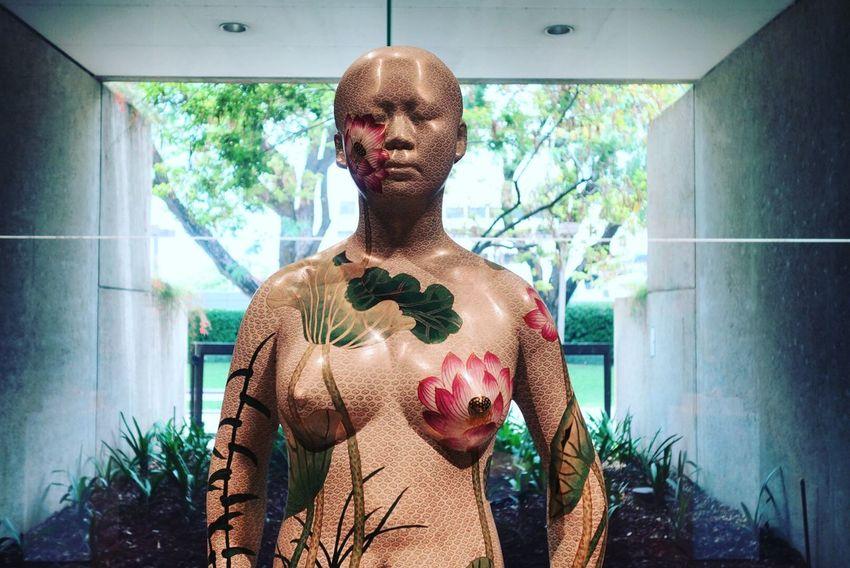 Statue Tattoo Asian  Asia Pacific Triennial Of Contemporary Art
