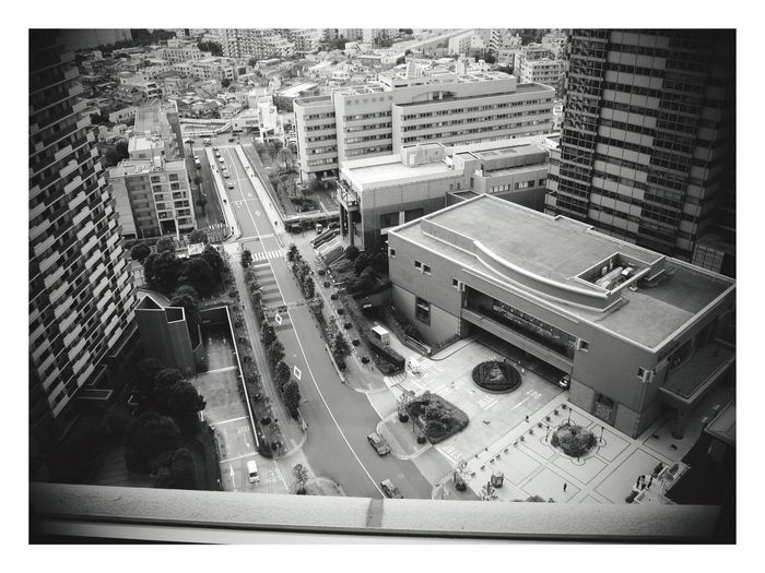 恵比寿 ウエスティンホテル 鉄板焼 恵比寿 Ebisu,japan 日本 Japan High Angle View Architecture City Built Structure Building Exterior Car Outdoors Day Cityscape No People The Secret Spaces