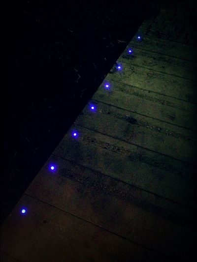 Blue Glowing Pearls