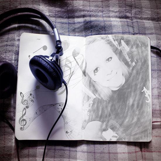 Pencil Sketch  Photo♡ Beautiful ♡