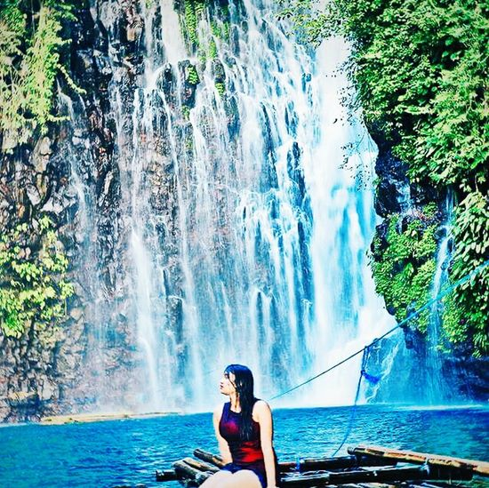 "The hidden beauty! Yep, we do have lots and lots of majestic waterfalls in our city. ""City of waterfalls"" indeed. 💧🏊 Summer ChasingWaterfalls Waterfalls Adventure Beautiful Nature Make Magic Happen"