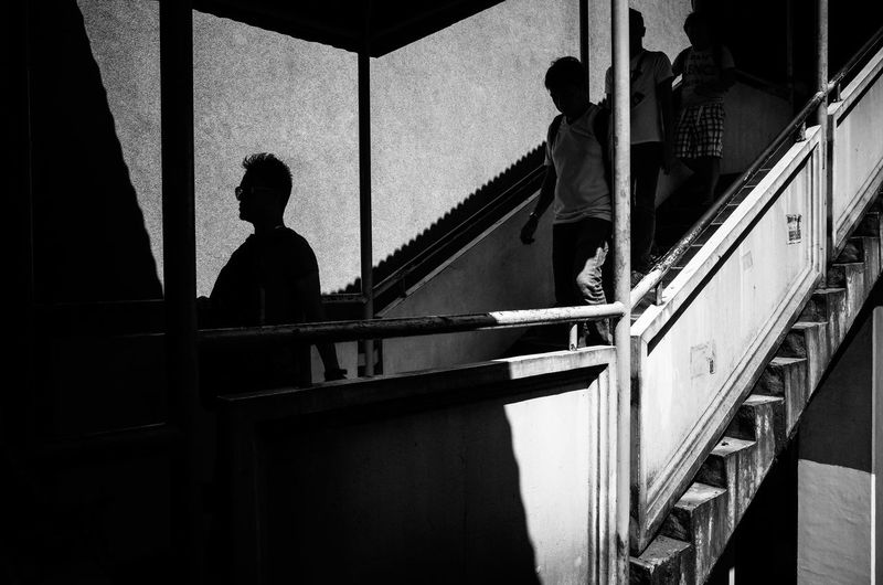 Cubao, Quezon City, Philippines Black And White City Life Everybodystreet EyeEm Best Shots EyeEmBestPics Silouette And Shadows Street Photography The Human Condition The Street Photographer - 2016 EyeEm Awards