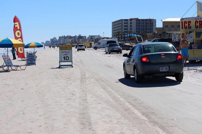 Beach Enjoying Life Summer Hot Weather