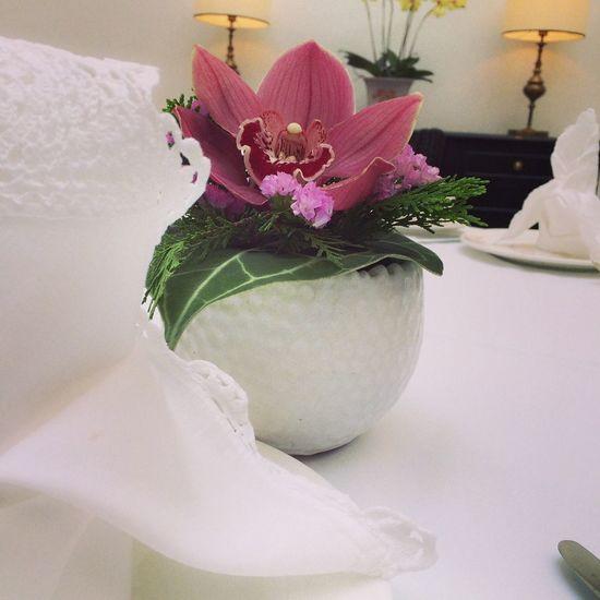 HiTea with friends.... Flower Power Hi-tea Orkid Teatime