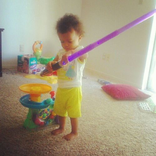 My #daughter is a #jedi. #lightsaber Starwars Daughter Ford Jedi Lightsaber Fotf Familyoftheforce Theforce Theforceisstrongwiththisone
