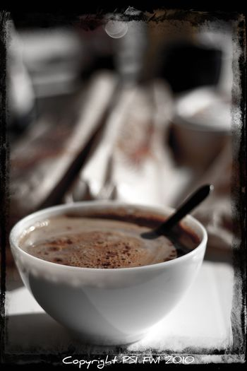 Breakfast Choclat Chaud Choclate Coffee - Drink Coffee Cup Déjeuner Petit Dejeuner Selective Focus EyeEmNewHere