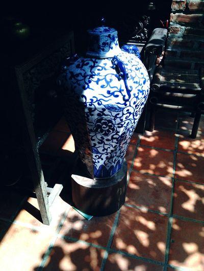 Không phải là em khoe cái bình này đâu nhééé ôi trời 😂😂😂 Tại cứ bị thích màu xanh với ánh nắng nên chụp lại thôi shalala ❤ YouAreThePrettySunshineOfMyLifeMyHOUSE