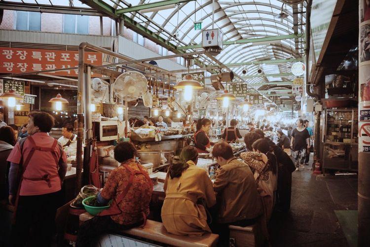 Kwangjang Market Seoul Korea