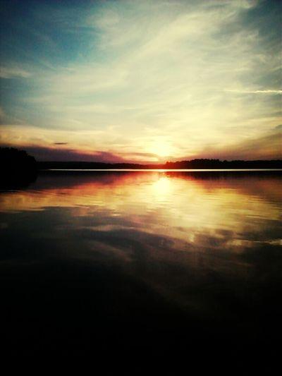 beautiful night in finland
