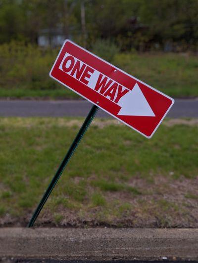 one way. Bent