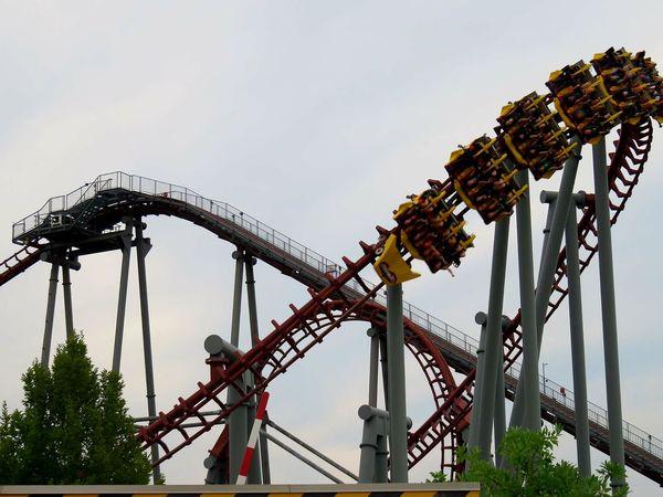 Kings Island Roller Coaster Thrill Rides Fun