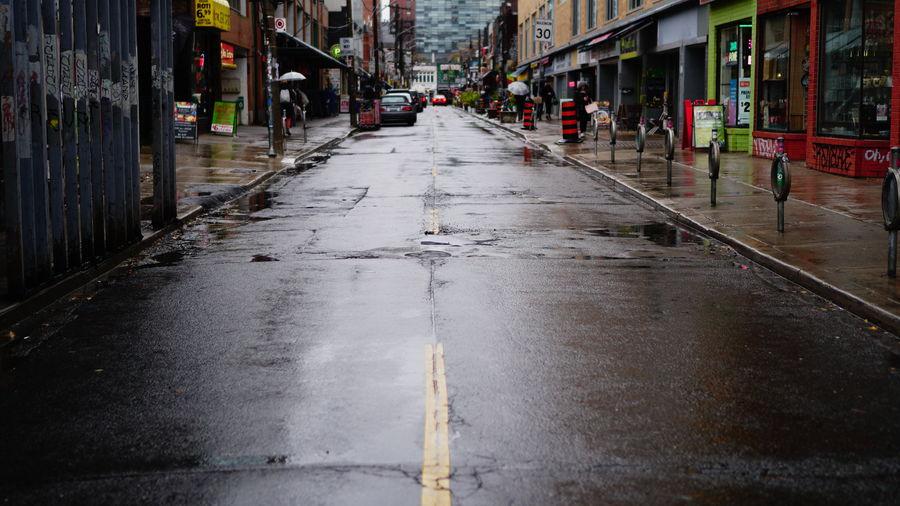 City Wet Street