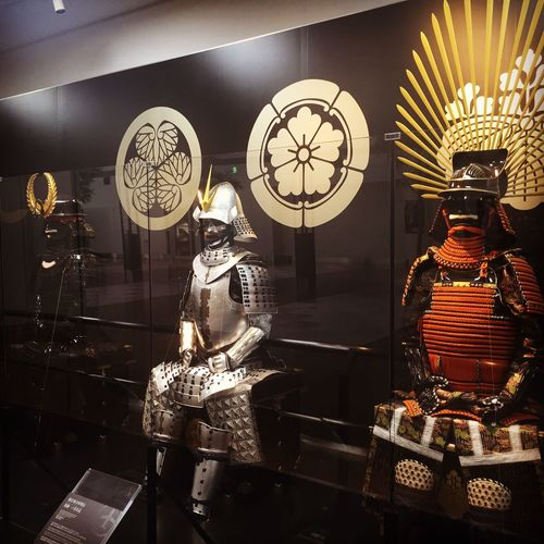 The armor of successive generals. Tokugawa Oda Toyotomi @2005Ohayou First Eyeem Photo 43 Golden Moments Showcase July 侍 セントレア 空港 将軍 家康 信長 秀吉 鎧