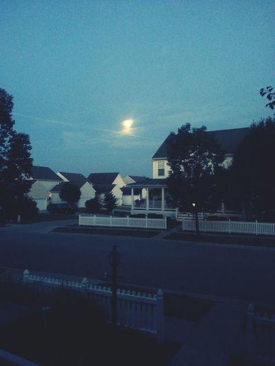 Almost a super moon