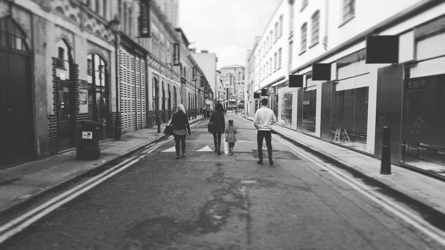 People And Places People And Places. London Street Squad Family Daytrip Tourist