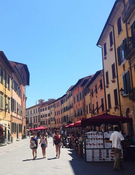 Pisa Pisa, Italy Italy Street Streetscape Walking Around Walking Walk On The Way Masako201607