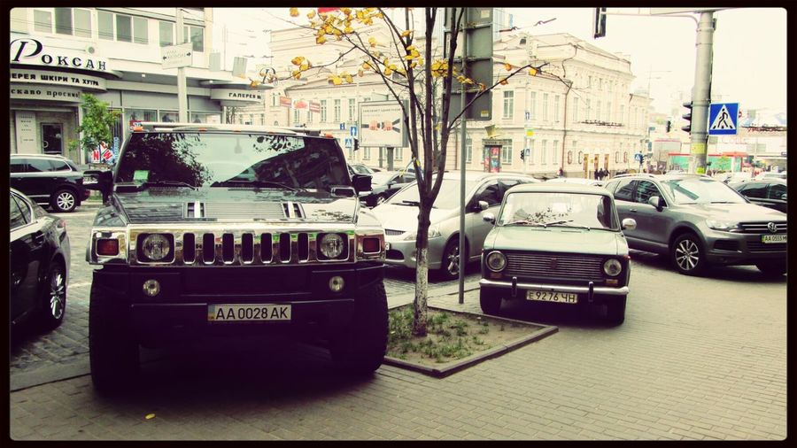 Hummer LADA Find The Difference Cars