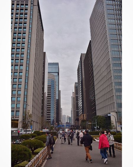 Downtown Tokyo by Imperial Palace surroundings Tokyo Japan Tokyo,Japan Cityscape City View  City Street Urban Urbanphotography