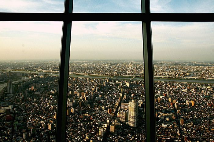 Japan Tokyo Sky Tree Tokyo Sumida Perth Bird's Eye View Tower Building Cityscape Cityscapes Sumidariver Shirahige The Architect - 2016 EyeEm Awards Development Ultimate Japan