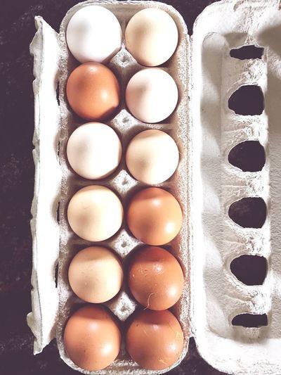 Eggs... Healthy Food Raw Food Fresh Natural Vanilla Colored Food Village Life Huevos Vida Campestre Campo Comida Fresca Saludable Fresco