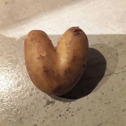 Heart Potato Heart Shape Sand No People Food Indoors  Day EyeEmNewHere
