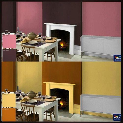 Моя вариация окраски столовой в сиреневых и жёлтых тонах. DuluxVisualizerContest PastelTones DuluxVizualizer DinnigRoom Coloration ПастельныеТона Столовая ДюлюксВизуалайзер МягкиеЦвета