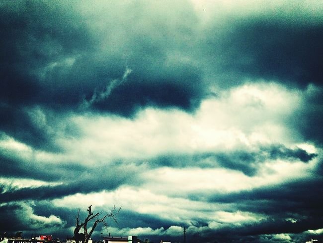 Black Storm In Kota!! Awesome view Black Storm Stormy Weather Blackday Thunderstorm Wind Heavy Rain Awsome View