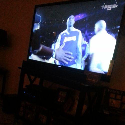 Watching the game Lakersnation  Kobe Bryant 24 Kobe Bryant Back