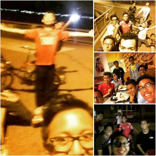 We did our 2nd recce from Al-Mawaddah mosque to ECP and ECp back to Sengkang. It was a great and tiring experience. We cycled around a total of 45km in 5hrs!! Alhamdulillah. Seriously i almost gave up.. Kekekekekekeke. So if you guys wanna experience da fun. Do join us. No worries brothers & sisters, bicycles will be provided during the event! 5th September '15  Al-Mawaddah to East Coast Park only 15-25 years old $10 per person / $40 for a group of 5 Registration closed on the 21st Aug! Hurry register NOW @ www.tinyurl.com/afnightcycling Sempoi Sports FB Event Page : http://tinyurl.com/AFNCEventPage AFsempoisports Afnightcycling Cyclingsg Nightcycling