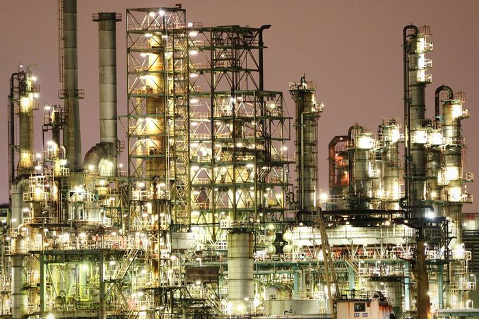 Oil Industry Industry Night Petrochemical Plant Landscape Bay Japan Bayside Plant Chemicalplant Chemical Engineering Illuminated Nightview Nightphotography Waterfront Nightscape